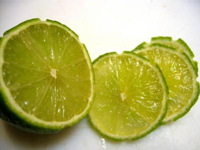 Image : Lime - Rondelles de lime