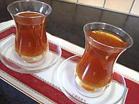 Recette Verres de thé au miel et à la verveine