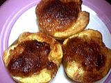 fruits farcis : Assiette de pommes farcies aux noisettes
