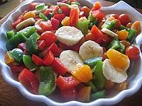Poivrons en salade