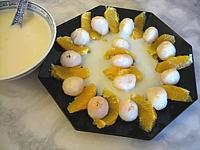 Cuisine thaïlandaise : Salade de litchis au lait de coco