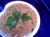 Image : Ramequin de sauce aux cèpes