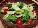 Salade de batavia et riz - 8.3