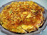 Recette Plat de tortilla de patatas
