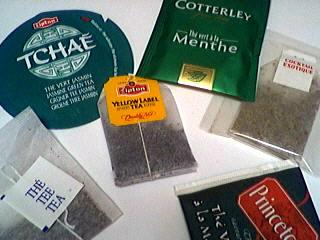 divers thés