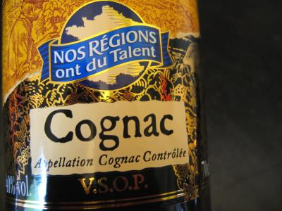 Photo : Bouteille de cognac
