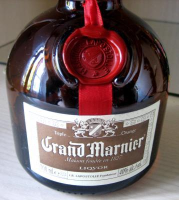Image : Grand Marnier - Bouteille de Grand Marnier