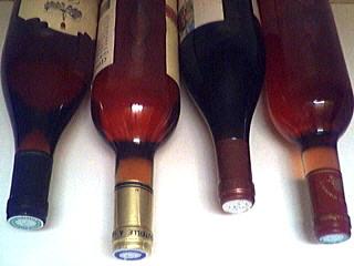 Image : Accord vins et mets - Quelques bouteilles de vins