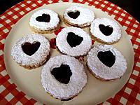 Image : Biscuit - Des biscuits sablés à la confiture