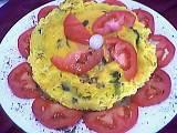 Image : recette Omelette aux épinards