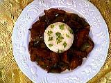 Image : Assiette de porc exotique