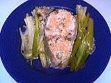 Image : Vins et poissons - Saumon en papillote