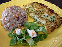 Image : recette Omelette aux noix de Saint-Jacques