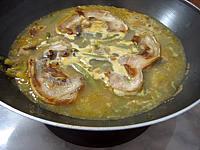soupe au lard et topinambours