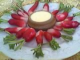 Recette Assiette de radis