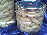 haricots blancs : Pots de stérilisation des haricots blancs
