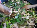 Soupe de champignons et pommes de terre - 7.2