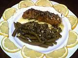 fines herbes : Assiette de roussette aux fines herbes