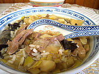 Soupe d'agneau et panais façon chinoise