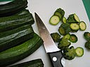 Tartines aux courgettes - 1.1