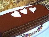 Image : Pavé au chocolat et café