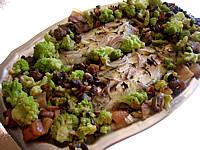 Recette Plat de soles et sa fricassée de légumes