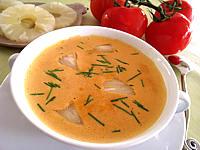 sauce chaude à base de fruits : Coupelle de sauce à l'ananas