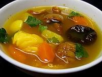 soupe de queue de langouste