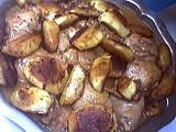 cidre : Assiette de poulet au cidre
