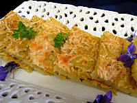 Cuisine suisse : Assiette de polenta