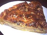 nectar de poire : Part de tarte au roquefort et poires