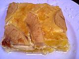Image : Assiette de gratin aux oranges