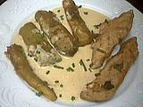 Recette Assiette de dinde sautée aux aubergines