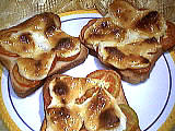 Fromages : Assiette de tartines au frromage
