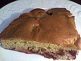 Image : recette Gâteau aux prunes