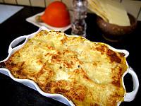 Recette Plat de lasagnes au potimarron et saint-agur