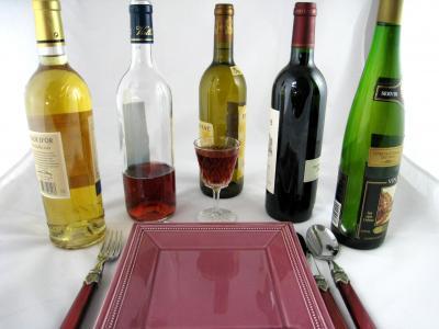 Image : Accords mets et vins - Présentation de vins