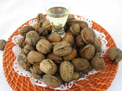 Image : Huile de noix - Noix et huile de noix