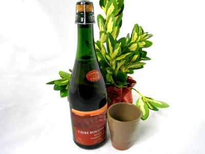 Image : Cidre - Bouteille de cidre