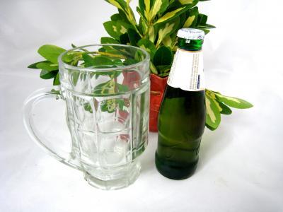 servir la bière
