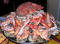 Plat de fruit de mer