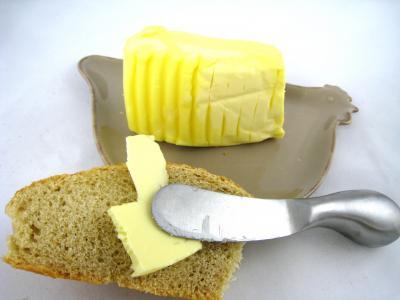 Image : Beurre - Beurre et sa tartine de pain