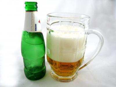 Photo : Verre de bière