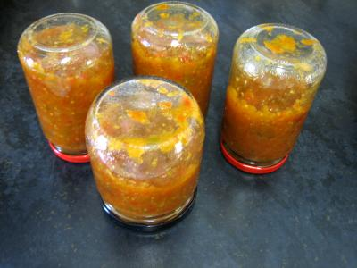 Image : Chutney - Chutney au poivron