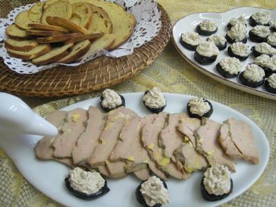 Image : Foie gras - Foie gras aux pruneaux