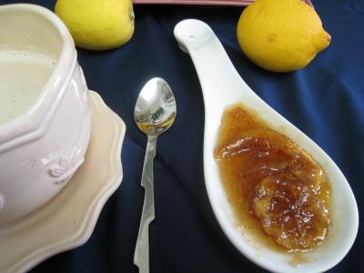 Image : Marmelade - Marmelade de citron à la vanille
