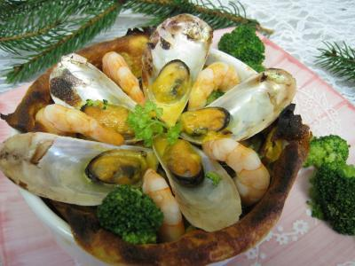 Photo : Crpes farcies aux moules