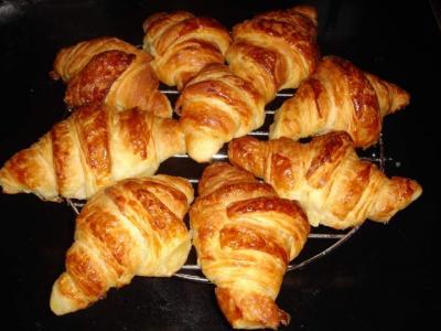 Image : Pâte levée feuilletée (croissants) - Croissants
