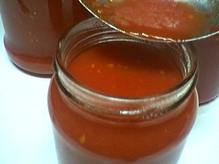Image : Strilisation - strilisation du coulis de tomates