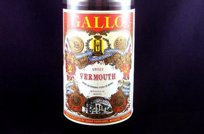 Image : Vermouth - Bouteille de vermouth